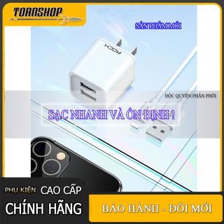 Củ Sạc kèm cáp iPhone Lightning Quick Charga Rock T23 2.4A- Sản phẩm mới