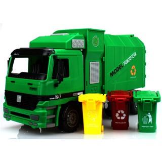 Mô hình xe chở rác Mô hình xe tải chở rác tỉ lệ 1:22