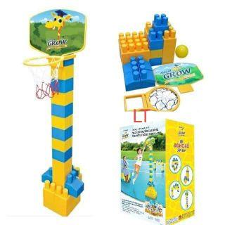 Bộ lắp ráp Lego bóng rổ sáng tạo cho bé