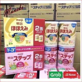 Combo 4 Hộp Sữa Meiji 800g Hàng Nhật Nội Địa Date Mới Nhất thumbnail