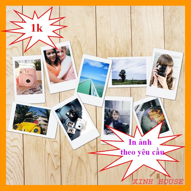 In Ảnh 6x9 Giá 1k Theo Yêu Cầu (Trên 20 ảnh) - Ảnh Polaroid  - Hỗ Trợ Chỉnh Sửa Ảnh