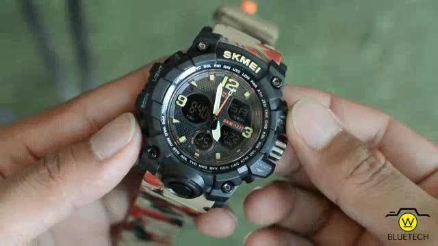 Đồng hồ Nam SKMEI 1327 [SIZE NHỎ] Chạy 2 máy