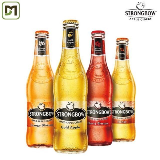 [20h-22h NHẬP GRO1004 giảm ngay 20%] Freeship từ 99k - Combo 8 chai StrongBow mix nhiều vị ngẫu nhiê