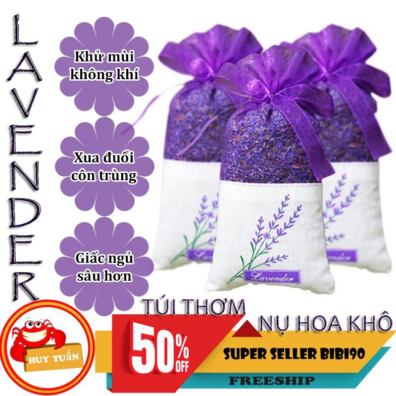 [Mã BM11COOL giảm 10% đơn bất kỳ] Túi thơm nụ hoa oải hương khô nhập khẩu