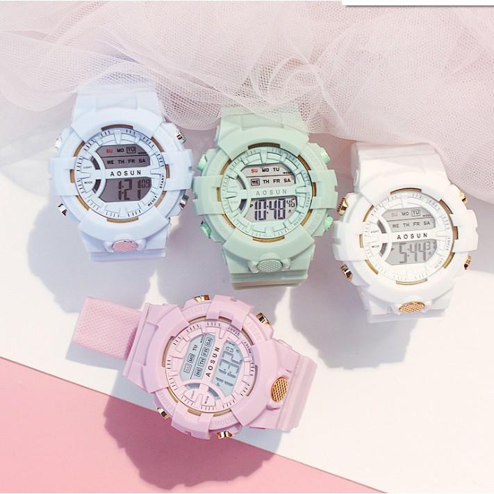 Đồng hồ điện tử nam nữ SPORTS thể thao, mẫu mới tuyệt đẹp, full chức năng, chống nước tốt- MS 01