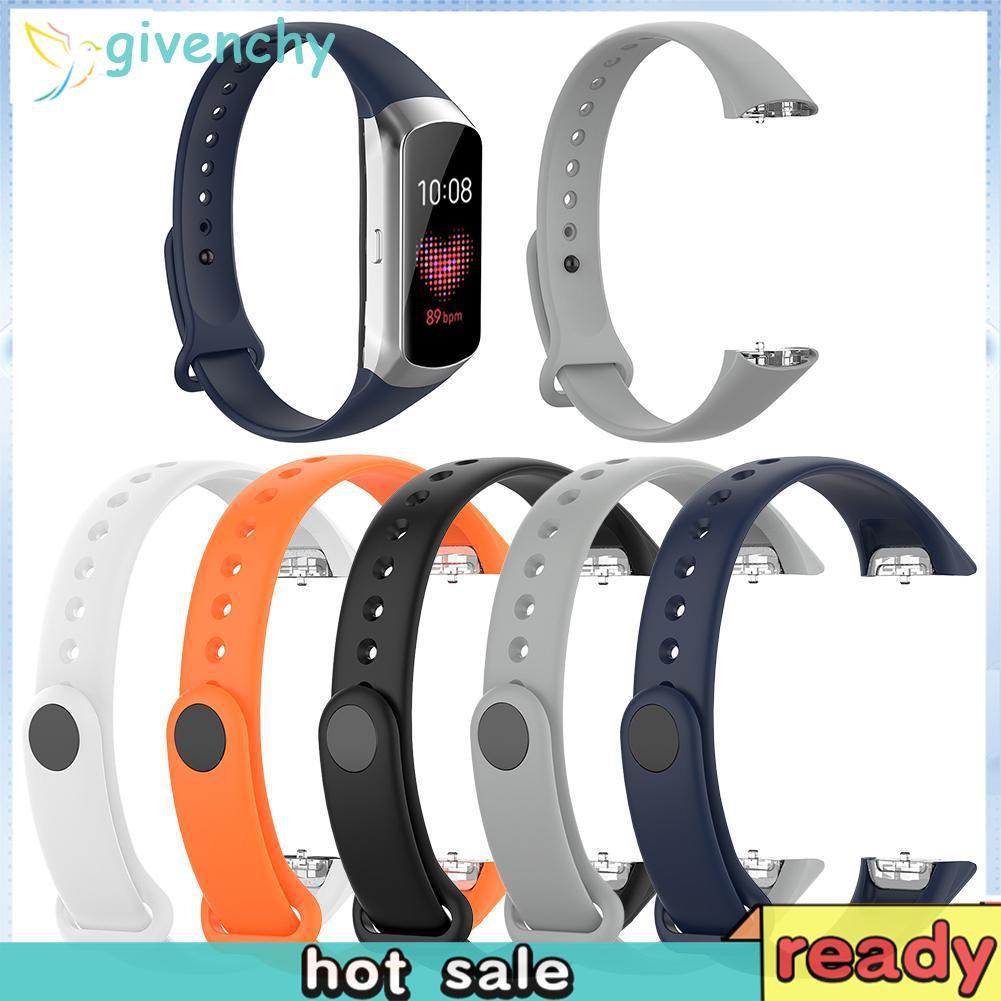 Dây Đeo Tpe Cho Đồng Hồ Thông Minh Samsung Galaxy Fit Sm-R370