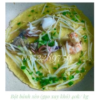 Bột bánh xèo gạo (xay khô)