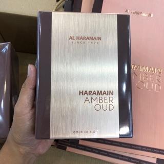 Nước Hoa Unisex Al Haramain Amber Oud Gold Edition 60ml