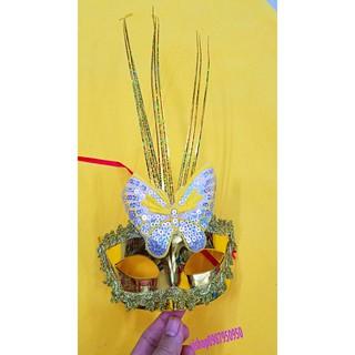 SK-mặt nạ lông vũ có đèn-( MK3) MS sp ZJ2939