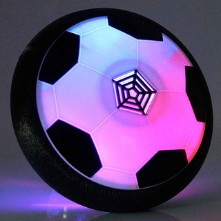 LED Light Flashing Ball Toys Air Power Soccer Balls Multi-surface Hovering Foo
