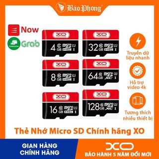 BẢO HÀNH 5 NĂM Thẻ Nhớ Micro SD 16 Gb 32 Gb 64 Gb 8 gb 4gb Class 10 U1 Chính Hãng XO cho điện thoại Samsung Oppo thumbnail