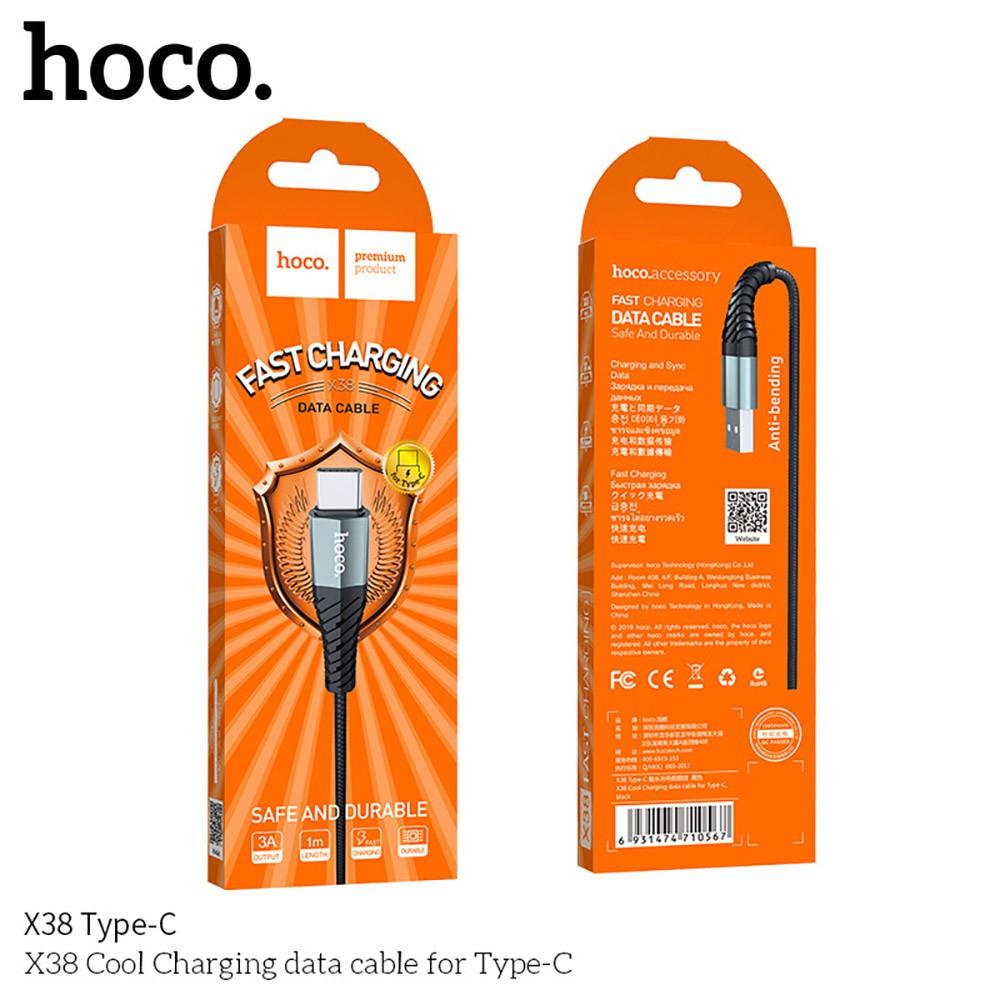 Dây Cáp Sạc Nhanh 2.4A Hoco X38 Lightning Type C Mico Cho Iphone IOS Android