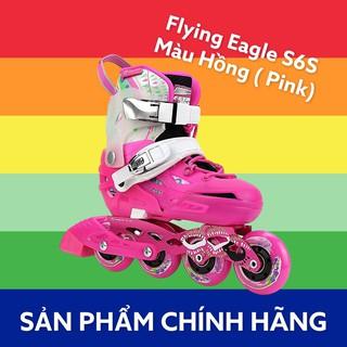 [Mua 1 tặng 3] Giày Trượt Patin FLYING EAGLE S6S cho trẻ em, Patin màu hồng, Patin trẻ em – PatinThinhNguyen