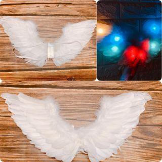 Cánh thiên thần có đèn đeo vai 50×28 (cm)