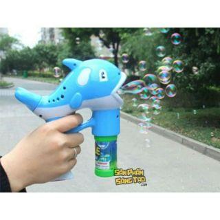 Súng bắn bong bóng 2 bình