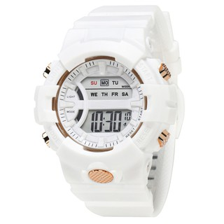 Hình ảnh Đồng hồ nữ và nam Tisselly điện tử c562 mẫu thể thao đầy đủ các chức năng và dây nhựa-5