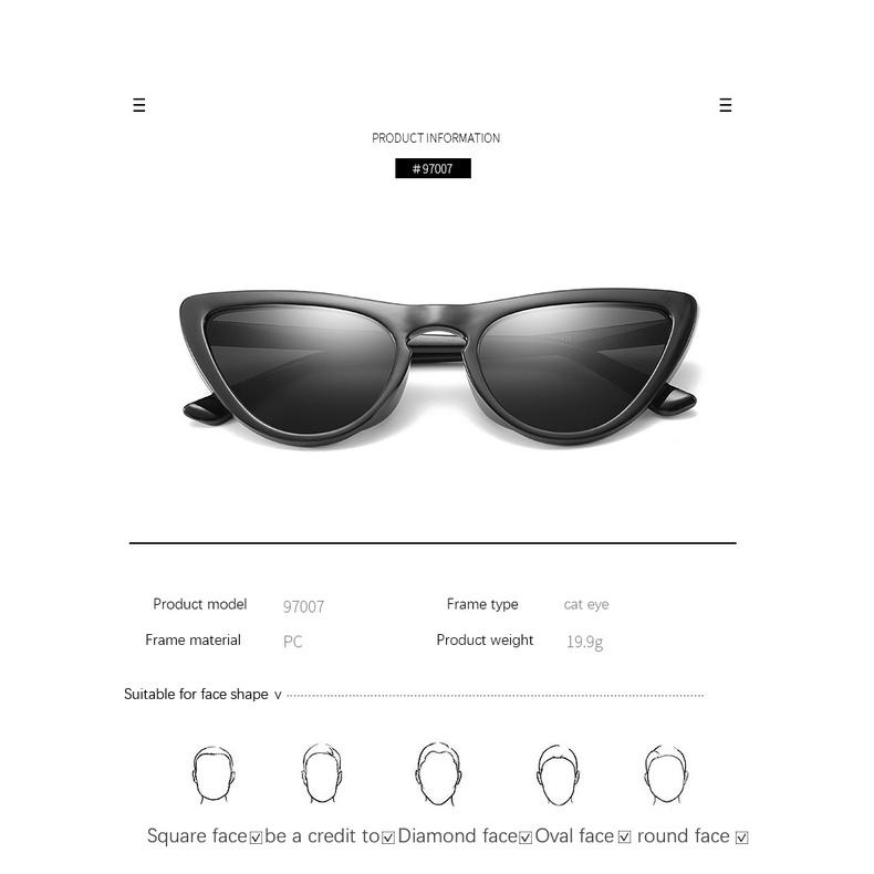 New Triangle Retro Sunglasses Trend Men's and Women's Personality Joker Sunglasses Street Glasses