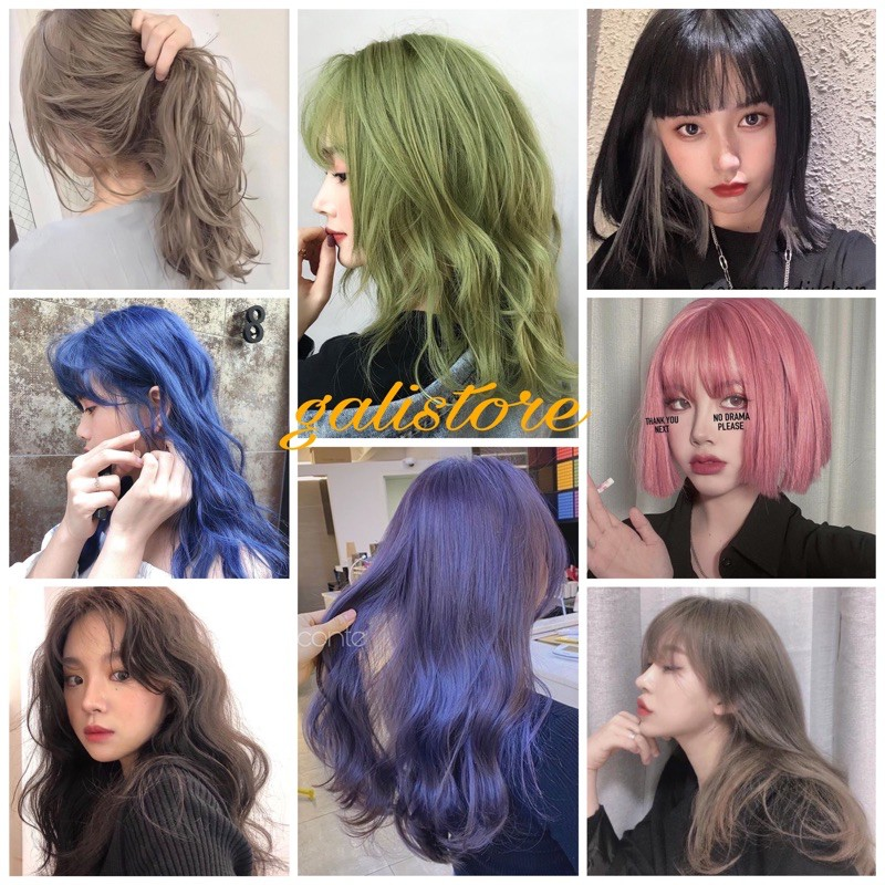 Màu nhuộm hot trend 3-dễ dàng tự nhuộm tóc tại nhà