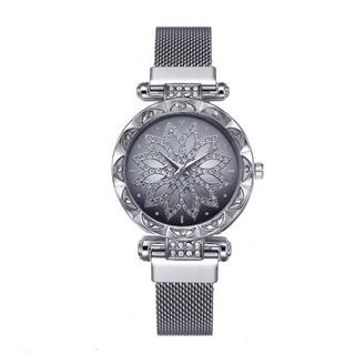 Đồng hồ thời trang nữ Candycat dây lưới nam châm mẫu mới GX3