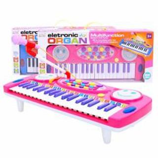 Đồ chơi đàn Organ kèm micro cho bé tập đàn tập hát Electronic Organ