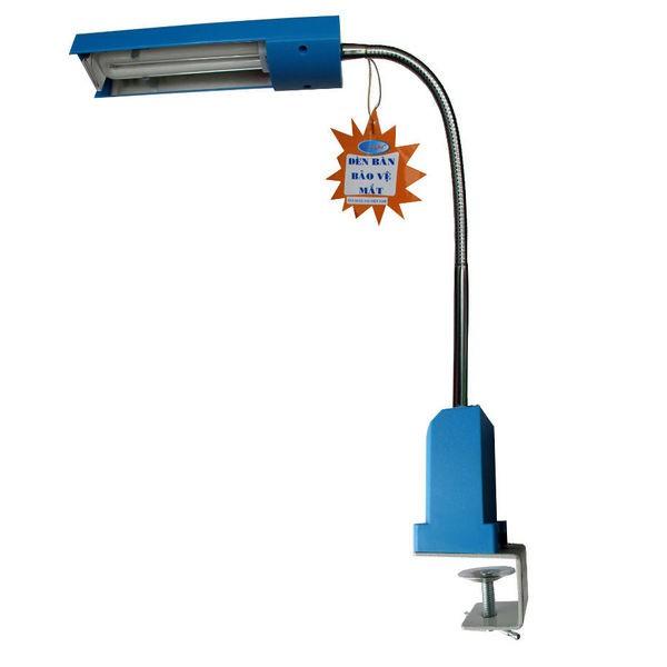 Đèn bàn kẹp V-light FGL 13W ( xanh dương)