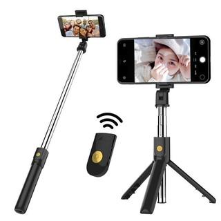 Gậy Chụp Ảnh Tự Sướng Bluetooth 3 Chân Đa Năng  Tripod K07  Chụp Hình Selfie