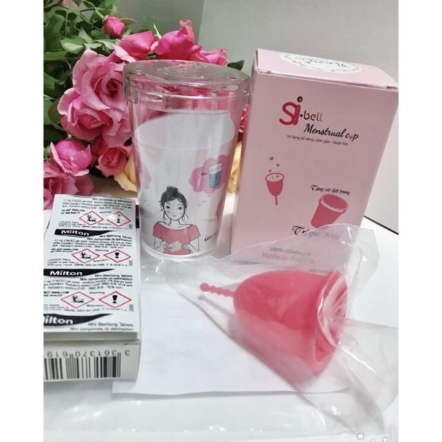 (FULL QUÀ TẶNG) Cốc nguyệt san SiBell chính hãng được nhập khẩu và Phân phối độc quyền Công ty Tân Cường Thịnh