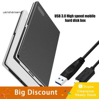 Ổ Cứng Ngoài USB 3.0 2.5inch SATA SSD Cho Máy Tính
