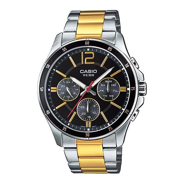 Đồng hồ nam Casio chính hãng Anh Khuê MTP-1374SG-1AVDF