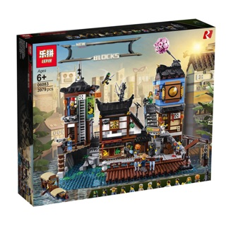 [ Hàng order 7-10 ngày ] Lepin ninjasaga – 06083 – Ninjago City Docks