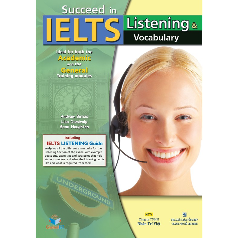 Succeed in IELTS: Listening & Vocabulary (kèm CD)