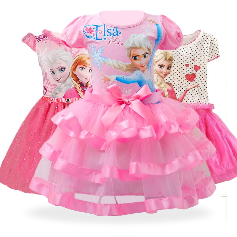 Đầm Hóa Trang Công Chúa Anna Elsa Cho Bé Gái