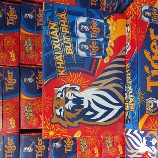 Thùng Bia Tiger 24 lon×330ml Khai Xuân Bứt Phá