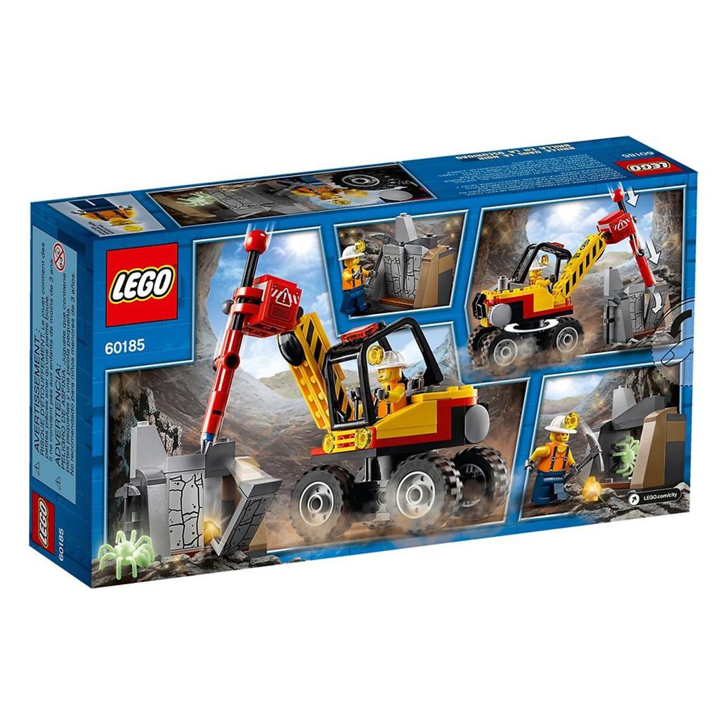 Mô hình Lego City - Máy Đục Đá 60185