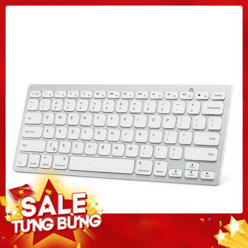 Bàn phím bluetooth không dây cho ipad, iphone, samsung Galaxy, máy tính bảng, điện thoại có hỗ trợ văn phòng – Siêu HOT Giá chỉ 703.800₫