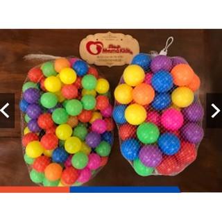 Combo 50-100 quả bóng Global đa sắc màu cho bé