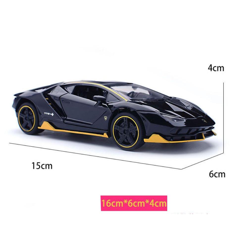 Mô hình siêu xe Lambo LP770 tỷ lệ 1:32