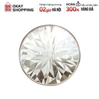 Phấn nền lạnh kim cương AGE 20's Essence Cover Pact Original Diamond Edition màu trắng