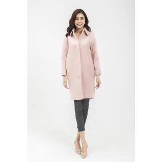 Áo măng tô dạ hồng nơ sau Elise thumbnail