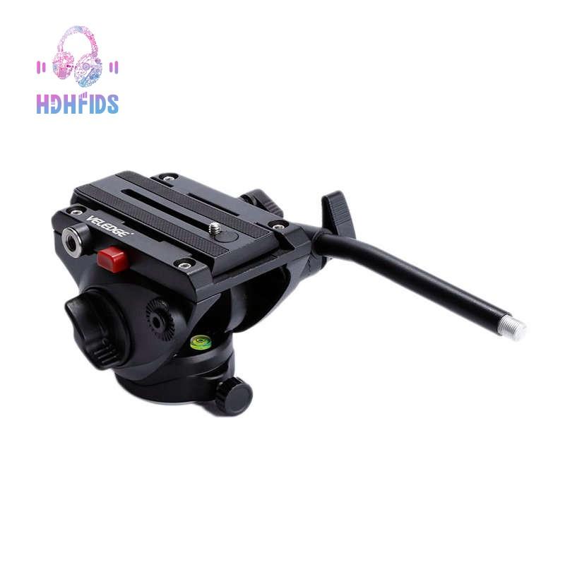 🔧Veledge Aluminum Video Camera Tripod Head With Qr Release Plate