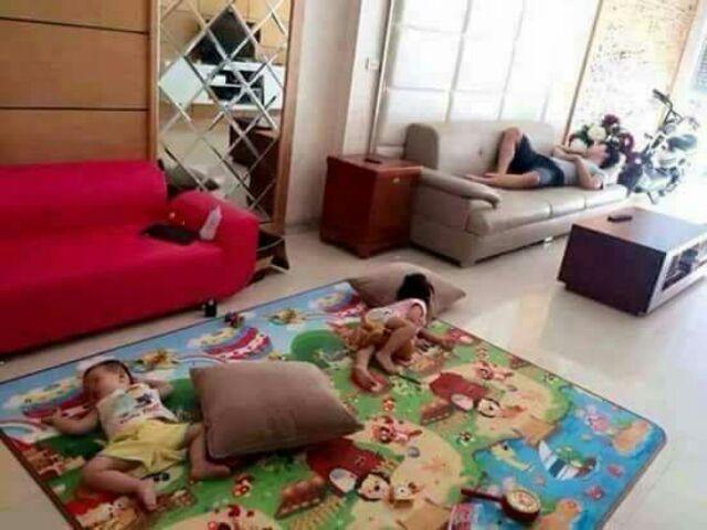 Thảm mamoshi 2 mặt cao cấp loại 1