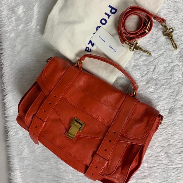 USED  PROENZA SCHOULER PS1 Medium Leather Satchel