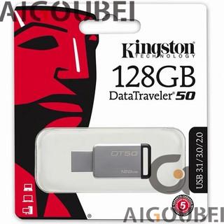 [Spot & COD] DT50 Flash Drive 128GB Metal Tốc độ cao Ổ đĩa flash U Disk Flash Drive