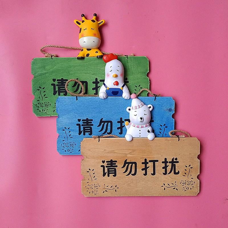 bảng gỗ 2 mặt treo trang trí phòng bé