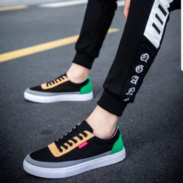 Giày vải nam Hàn Quốc
