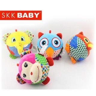Bóng mềm lục lạc SKK Baby 2in1