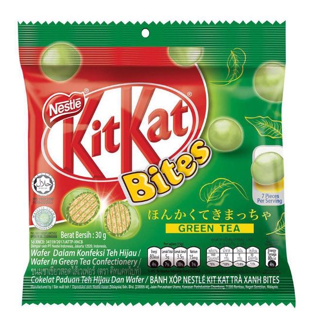 Socola Kitkat Bites Vị Trà Xanh (30g)