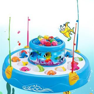 Bộ đồ chơi câu cá cho bé 2 tầng có nhạc