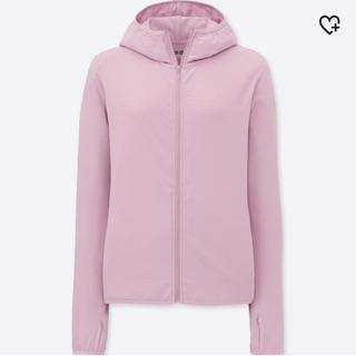 Gom order UNIQLO sale áo chống nắng UV Airism màu hồng 10 pink