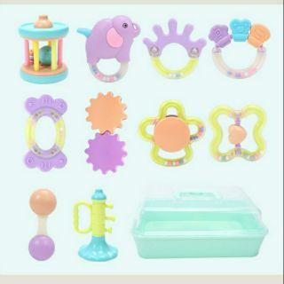Bộ xúc xắc đồ chơi an toàn cho bé